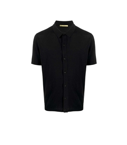 Roberto Collina - Camicie - polo nera