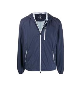Save The Duck - Giubbotti - giacca con cappuccio maty blu