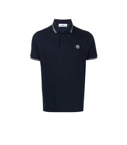 Stone Island - Polo - polo short sleeve blue