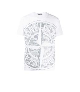 Stone Island - T-Shirt - big loom