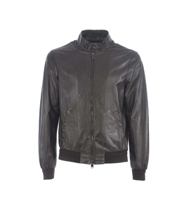 The Jack Leathers - Giubbotti - giubbino marrone elvis