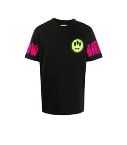 Barrow - T-Shirt - t-shirt con logo su maniche e stampa nera
