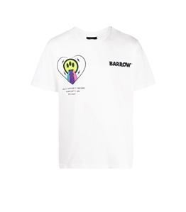 Barrow - T-Shirt - t-shirt con logo e stampa bianca