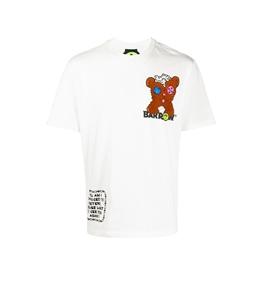 Barrow - T-Shirt - t-shirt teddy bear con stampa bianca