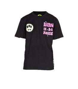 Barrow - T-Shirt - tshirt barrow in da house nera