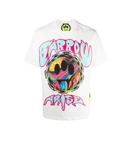 Barrow - T-Shirt - tshirt bianca con stampa arise