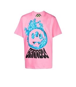 Barrow - T-Shirt - t-shirt con stampa rosa