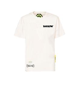 Barrow - T-Shirt - tshirt nera con stampa sul retro