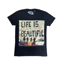 Bastille - T-Shirt - tshirt nera life is beautiful