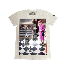 Bastille - T-Shirt - tshirt bianca chess queen