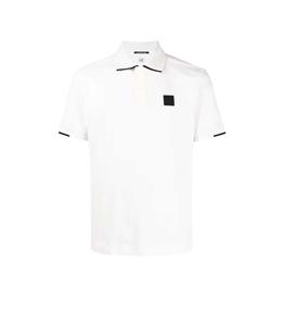 C.P. COMPANY - Polo - polo short sleeve bianca