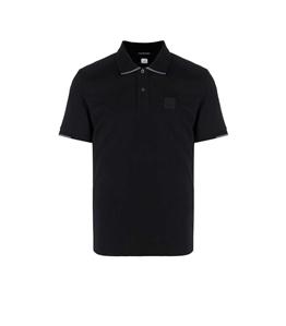 C.P. COMPANY - Polo - polo short sleeve nera