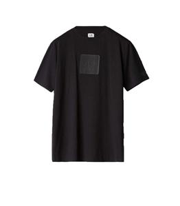 C.P. COMPANY - T-Shirt - t-shirt in jersey nera