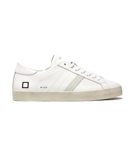 D.A.T.E. - Scarpe - Sneakers - hill low calf bianca