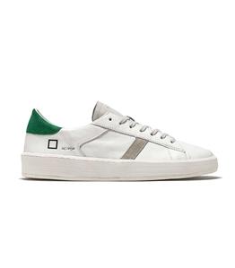 D.A.T.E. - Scarpe - Sneakers - ace pop bianca-verde