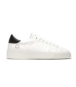 D.A.T.E. - Scarpe - Sneakers - levante calf bianca-nera
