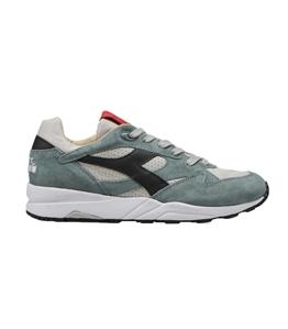 Diadora Heritage - Scarpe - Sneakers - eclipse italia grigio alluminio