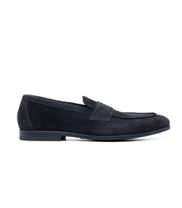 Doucal's - Scarpe - Sneakers - mocassino in suede blu