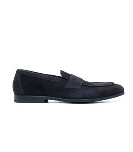Doucal's - Scarpe - Sneakers - mocassino in suede blu