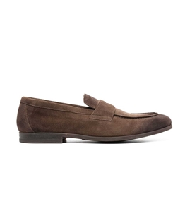 Doucal's - Scarpe - Sneakers - mocassino in suede noce