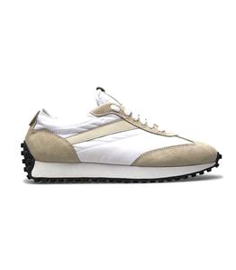 Doucal's - Scarpe - Sneakers - sneakers in tessuto tecnico e suede panna
