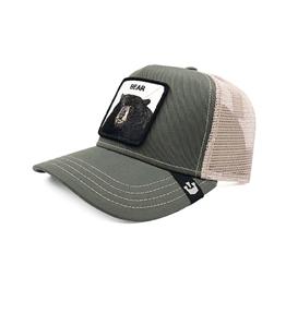 Goorin Bros - Cappelli - cappellino trucker bear verde olive