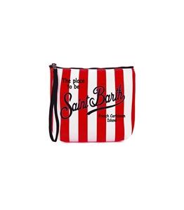 Mc2 Saint Barth - Pochette - pochette scuba rigata rossa