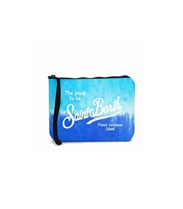 Mc2 Saint Barth - Pochette - pochette scuba tie dye azzurra e bluette
