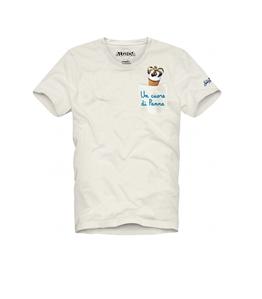 """Mc2 Saint Barth - T-Shirt - tshirt stampa """"un cuore di panna"""""""