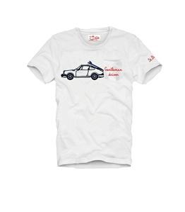Mc2 Saint Barth - T-Shirt - t-shirt stampa gentleman driver