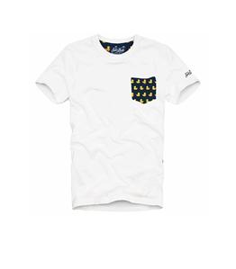 Mc2 Saint Barth - T-Shirt - t-shirt con taschino paperelle