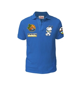 Mc2 Saint Barth - Polo - polo snoopy aloha azzurra