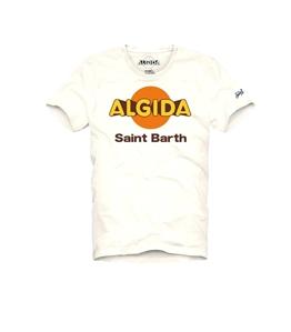 Mc2 Saint Barth - T-Shirt - tshirt bianca algida