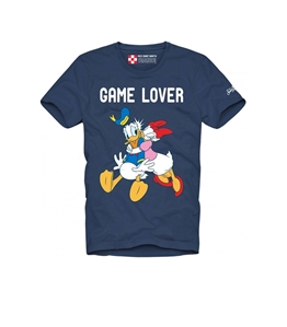 Mc2 Saint Barth - T-Shirt - t-shirt game lover blu - edizione speciale disney©