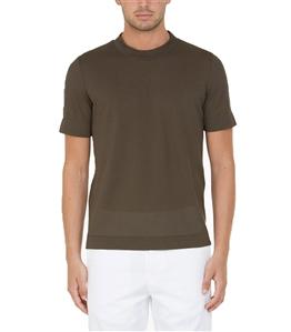 Paolo Pecora - T-Shirt - tshirt jersey marrone