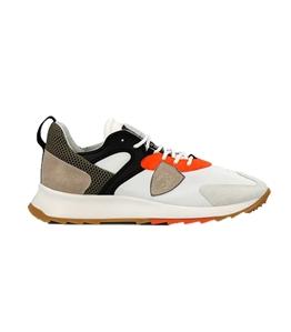 Philippe Model Paris - Scarpe - Sneakers - royale low mondial pop bianca arancio