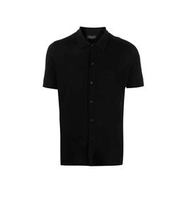 Roberto Collina - Maglie - maglia camicia nera