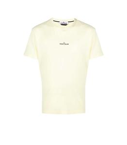 Stone Island - T-Shirt - tshirt marble three limone