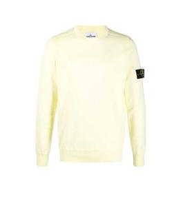 Stone Island - Maglie - maglia girocollo giallo limone