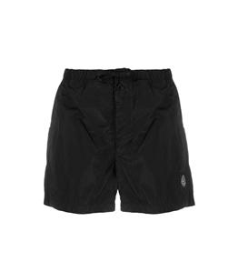 Stone Island - Shorts - costume nylon metal nero