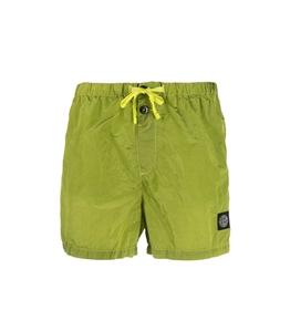 Stone Island - Shorts - costume nylon metal pistacchio
