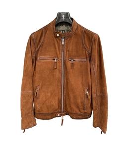 The Jack Leathers - Giubbotti - giubbotto scamosciato marrone chiaro