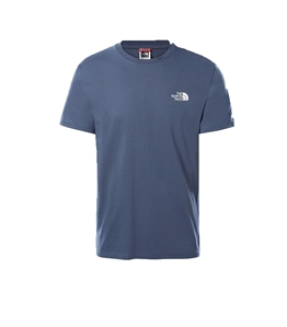 The North Face - T-Shirt - tshirt simple dome indigo
