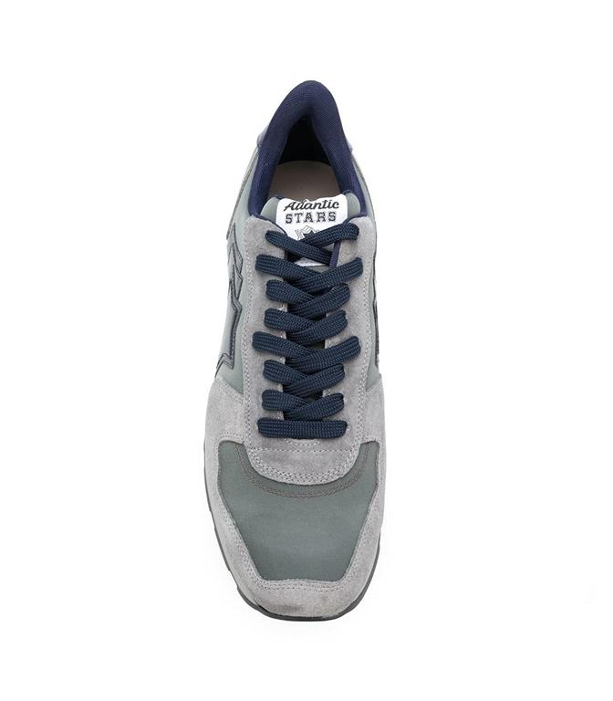 Atlantic Stars - Saldi - sneakers antares in suede dusty grey 1