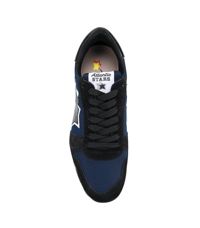 Atlantic Stars - Saldi - sneakers sirius in suede blu navy 1