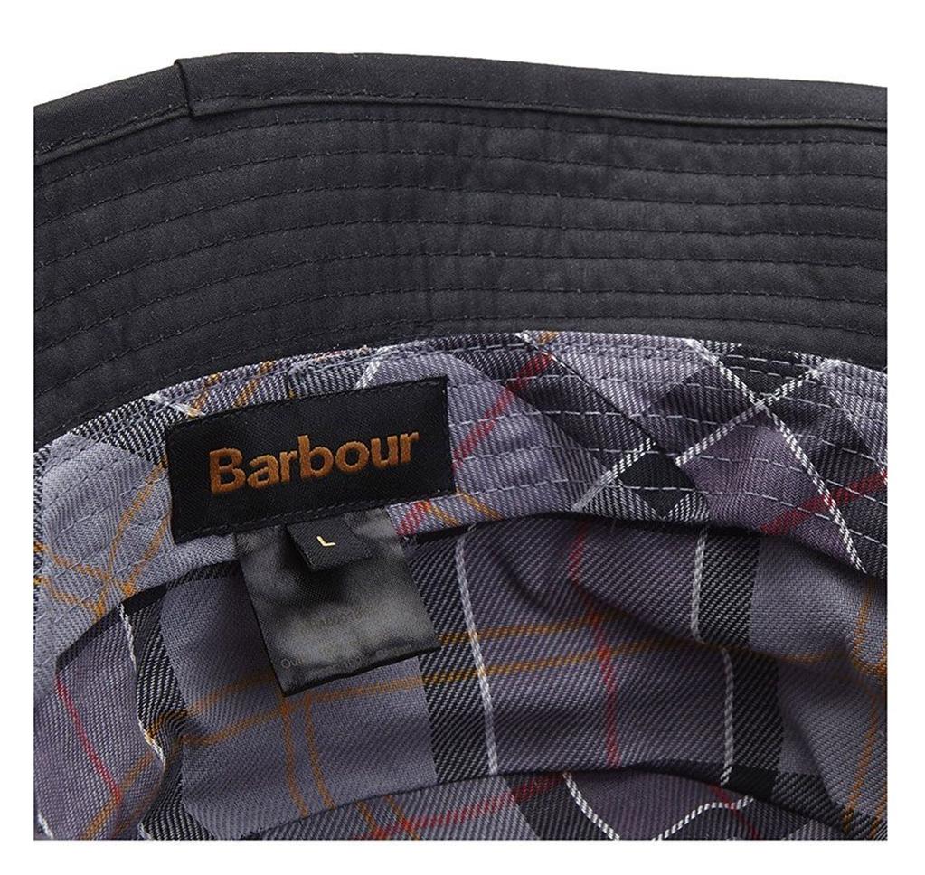 Barbour - Cappelli - wax sports hat black 2