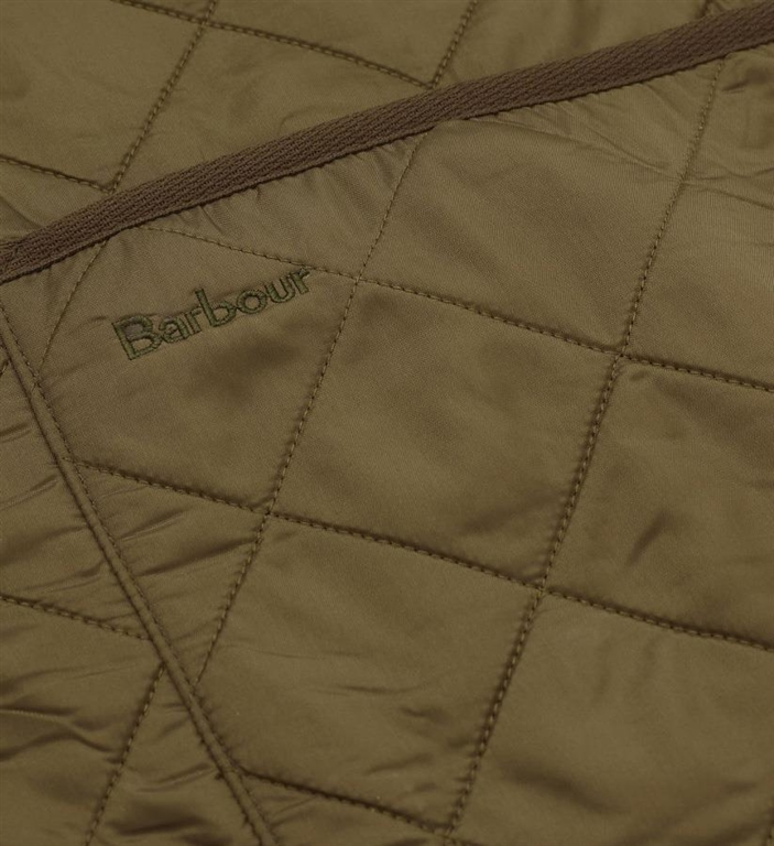 Barbour - Giubbotti - polarquilt waistcoat zipliner olive green 3