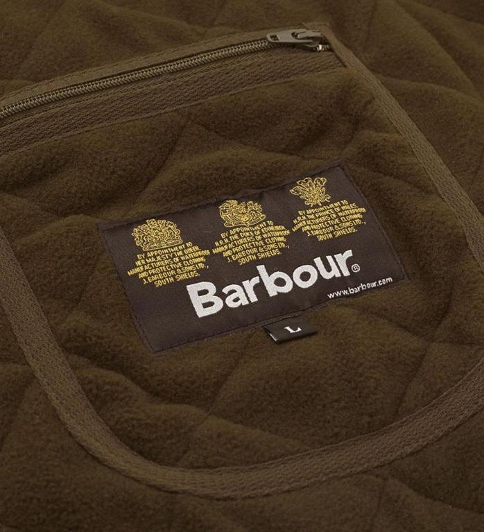 Barbour - Giubbotti - polarquilt waistcoat zipliner olive green 4