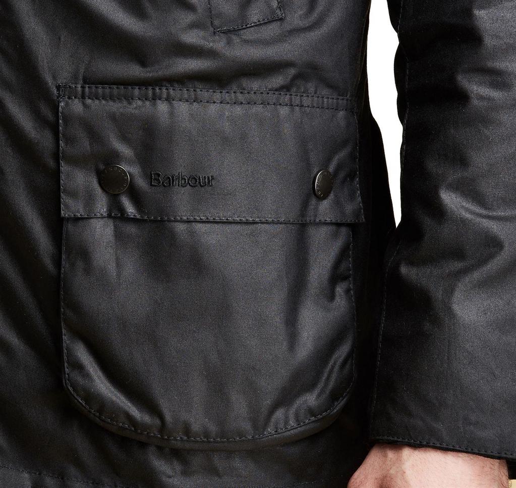 Barbour - Giubbotti - ashby wax jacket black 1