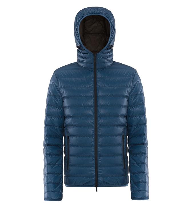 Ciesse Piumini - Giubbotti - franklin - 800fp light down hoody jacket federal blu